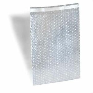 200 8x11 5 Bubble Out Pouches Bags Wrap Cushioning Self Seal Clear 100 Best