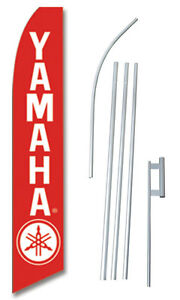 Yamaha Red Swooper Flag Bundle