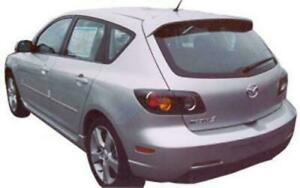 04 09 Mazda 3 Sport H B Plastic Factory Oe Style Spoiler Paint To Match