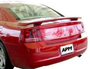 06 10 Dodge Charger Plastic Custom Oe Style Spoiler Paint To Match