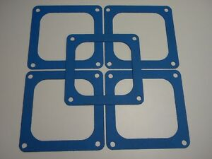 Holley Qft Aed Demon Blue Non Stick Dominator 4500 4700 Flange Gasket 5 Pack