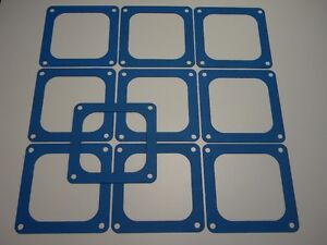 Holley Qft Aed Ccs Blue Non Stick Dominator 4500 4700 Flange Gasket 10 Pack