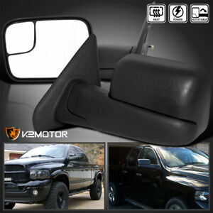 2002 2008 Dodge Ram Extend Flip Up Power Heated Towing Mirrors Left Right
