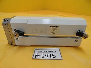 Compact Automation 60 30874200 Pneumatic Rectangle Linear Cylinder Used Working