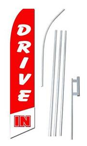 Drive In Swooper Flag Kit