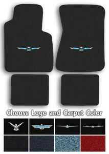 Loop Carpet 4pc Floor Mats For 1958 1973 Ford Thunderbird Choose Color