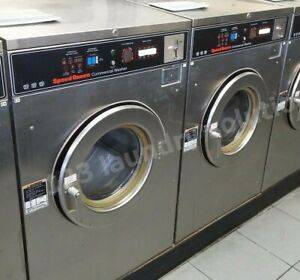 Speed Queen Front Load Washer Coin Op 30 Lbs 208 240v S n sc30md20u60001 ref