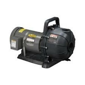 Pacer Electric Drive Pump 6600 Gph 2 Hp se2elc2 oc Industrial Water