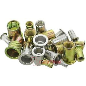 Metric 304 Stainless Steel Metal Blind Insert Rivet Nut Rivnut M3 M4 M5 M6 M8 Uu