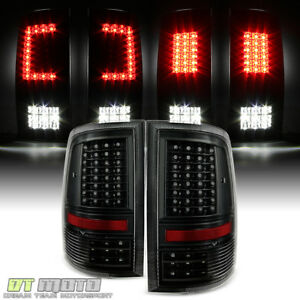 Update Design Blk 2009 2018 Dodge Ram 1500 2500 3500 Led Tail Lights Brake Lamps