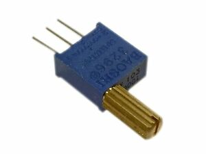 500k Ohm Multi turn Trimmable Trimmer Potentiometer 3296 W Handle Pack Of 2