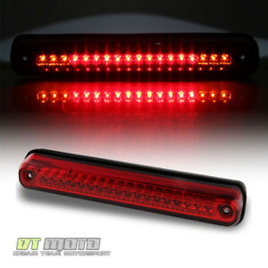 1994 1999 Gmc Sierra Chevy Silverado Pickup Red Led 3rd Brake Light Cargo Lamp