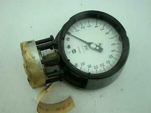 Solfrunt Pressure Gauge Max Psi 15 With Diaphragm