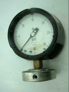 Solfrunt Pressure Gauge Max Psi 30 With Ametek Diaphragm