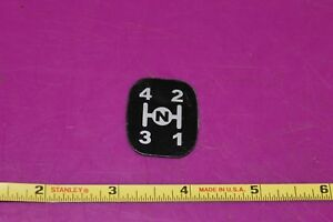 Montana N55 Tractor Main Change Lever Shift Decal