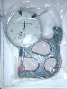 Scherr Tumico Dial Thickness Gage Caliper 0005 5 64 1210 02 Made Japan New