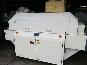 Speedline Electrovert Bravo 4050 Convection Reflow Belt Oven For Pcb Production