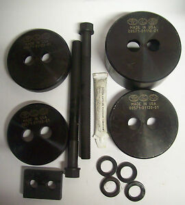 Otc 09570 18020 01 Differential Mount Cushion Removal Replacement Tool Set