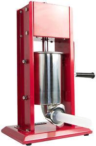 Vivo Sausage Stuffer Vertical Dual Gear Stainless Steel 3l 7lb 5 7 Pound Of Meat