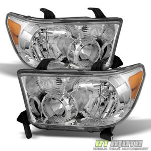 For 2007 2013 Toyota Tundra 2008 2017 Sequoia Headlights Aftermarket Left Right