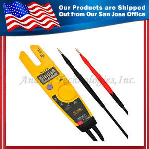 New Fluke T5 1000 Ac dc Current Electrical Tester W Beeper Auto Off Usa Seller