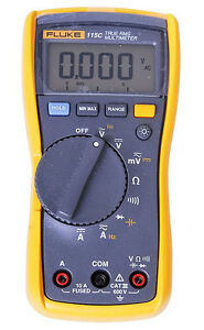 New Fluke F115 115c Field True Rms Multimeter 1000uf Backlight W Bag Usa Seller
