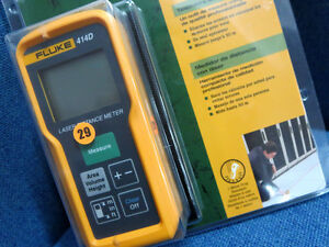 Fluke 414d Laser Distance Meter 50 M 165 Ft Us Seller
