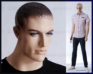 Male Mannequin Dummy Man Realistic Looking Muscular hand Made Manikin bob