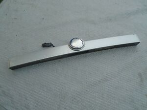 Saab 9 3 04 07 Convertible Trunk Lid Lift Handle License Plate Lights Emblem