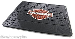 Harley Davidson Utility Mat Welcome Shop Back Rear Matt Floor Hd Motorcycle Home