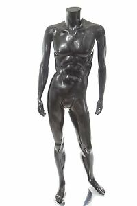 Used Male Headless Black Mannequin Local Pickup Only