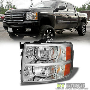 2007 2013 Chevy Silverado 1500 Orginal Replacement Headlights Driver Side Left