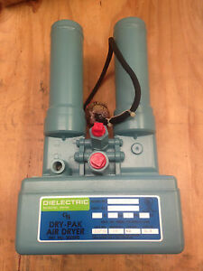 Dielectric Dry pak Dryer Model Ds0 ae f0 0 115v 60 Hz Single Phase 20w