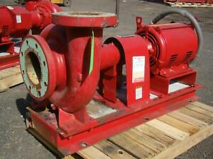 Bell And Gossett 5x6 20 Hp 230 460 Volt Suction Pump Series 1510 5bc 9 25 Bf