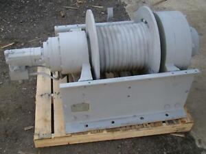 Dp Manufacturing Hydraulic Recovery Winch 55 000 Lb Capacity Model 51883