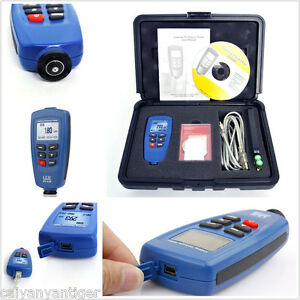 Dt 156 Cem Coating Thickness Gauge Paint Meter Tester 0 1250um 0 50mil Car F nf