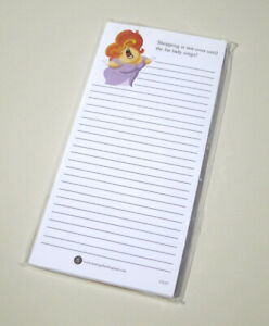 10 Pack White Note Pads Opera Lady Music Gift Stationery Made In England