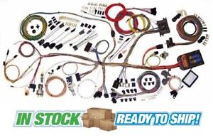 62 67 Chevy Nova Classic Update American Autowire Wiring Harness Kit 510140