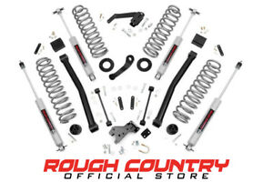 Rough Country 60930 3 5 inch Suspension Lift Kit For 07 18 Jeep Jk Wrangler