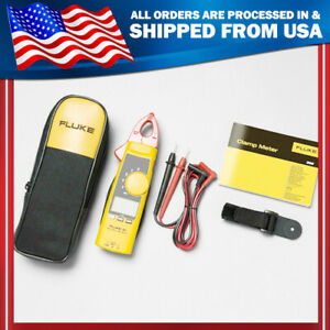 New Fluke 365 True rms Ac Clamp Meter With Detachable W Case Jaw Usa Seller