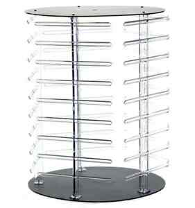 For Sale Counter Earring Revolving Round Display 15 X 19 5 H clear black