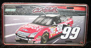 Carl Edwards Ford Fusion Nascar License Plate Tag Sign Office 99 Roush Racing