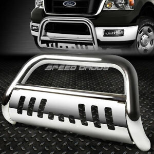 For 99 07 Ford Superduty Excursion Suv Chrome Bull Bar Push Bumper Grille Guard