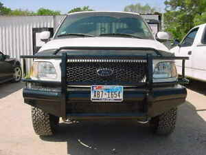 New Ranch Style Front Bumper 97 98 99 00 01 02 03 Ford F150