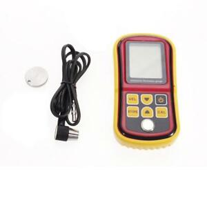 Digital Ultrasonic Thickness Meter Tester Gauge Measurer 1 2 225mm Lcd Display