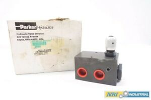 New Parker R6701 3 3 4s52 3 4 In Npt Relief Hydraulic Valve