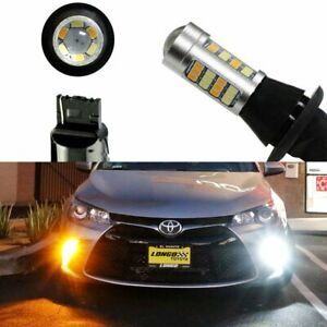 Switchback Led Bulbs For 2015 2019 Toyota Camry Turn Signal Light Drl Conversion