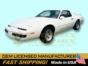 1987 1988 1989 1990 Pontiac Firebird Formula 350 Decals Stripes Kit