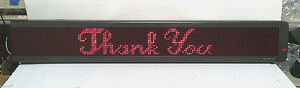 Emc 1019 5007b 4160r120 4160r Telecaster Led Programmable 52 Display Sign Aspect