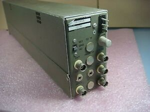 Unholtz Dickie D22 Series Charge Amplifier Model D22pmsl